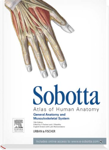 9780723436393: Sobotta Atlas of Human Anatomy: Volume 1, 15th ed., English/Latin, General Anatomy and Musculoskeletal System, 15th Edition