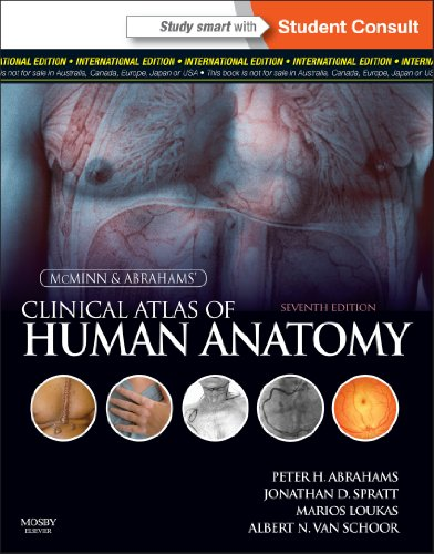 9780723436980: MCMINNS CLINICAL ATLAS OF HUMAN ANATOMY