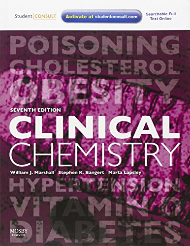 9780723437031: Clinical Chemistry: With STUDENT CONSULT Access, 7e (Marshall, Clinical Chemistry)