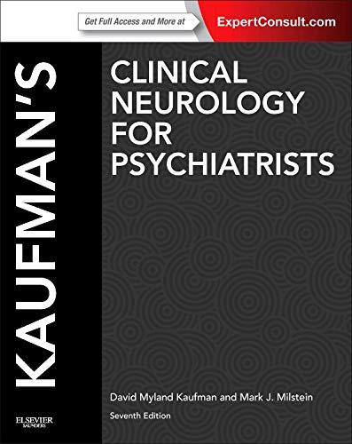 9780723437482: Kaufman's Clinical Neurology for Psychiatrists, 7th Edition