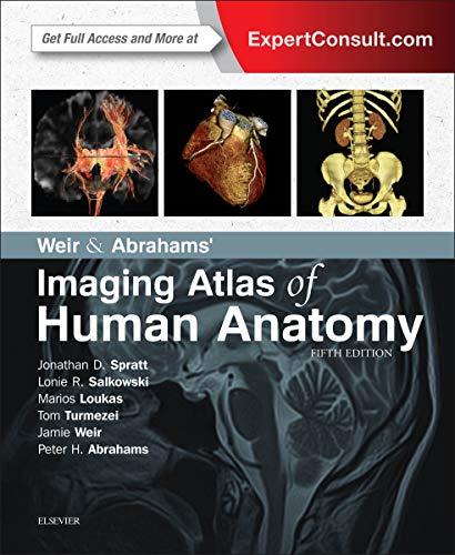 9780723438267: Weir & Abrahams' Imaging Atlas of Human Anatomy, 5e