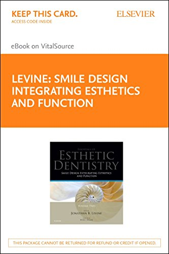 9780723439622: Smile Design Integrating Esthetics and Function - Elsevier eBook on VitalSource (Retail Access Card): Essentials in Esthetic Dentistry, 1e