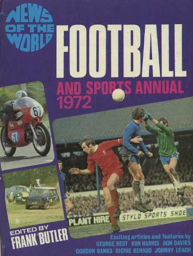 9780723501251: News of the World Football & Sports Annual 1972