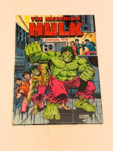 9780723504573: The Incredible Hulk Annual 1978