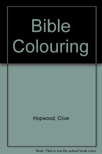 9780723512639: Bible Colouring