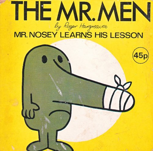 9780723521013: Mr. Nosey Learns His Lesson (The Mr. Men)