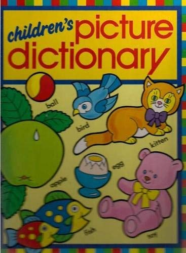 9780723524878: CHILDREN'S PICTURE DICTIONARY.