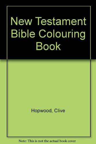 9780723543039: New Testament Bible Colouring Book