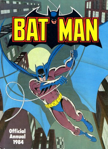 9780723567028: Batman Official Annual 1984