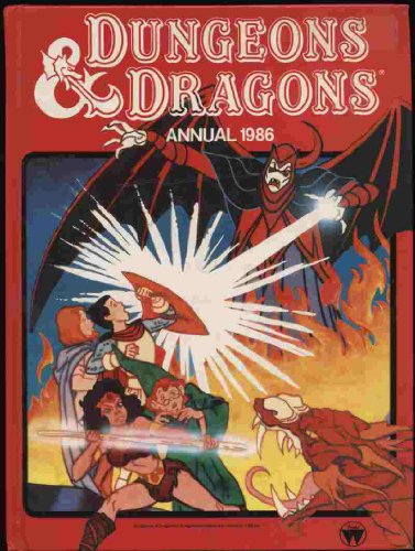 9780723567684: DUNGEONS AND DRAGONS ANNUAL 1986