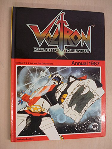 Voltron Defenders of the Universe Annual 1987