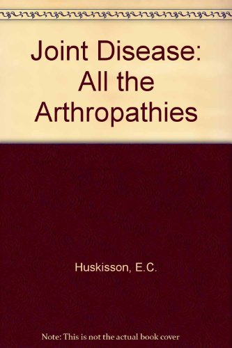 9780723604082: Joint Disease: All the Arthropathies