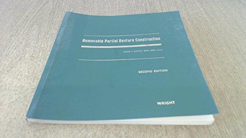 9780723604815: Removable Partial Denture Construction