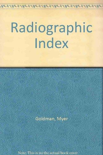 9780723606604: Radiographic Index