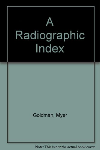 9780723609216: A Radiographic Index