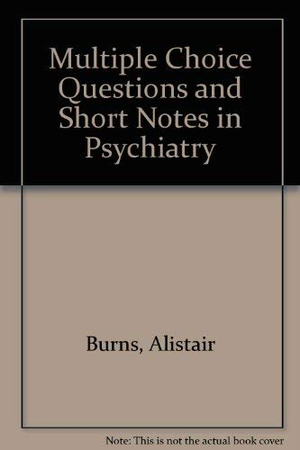 9780723609384: McQs and Short Notes in Psychiatry