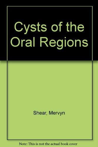 9780723609872: Cysts of the Oral Regions