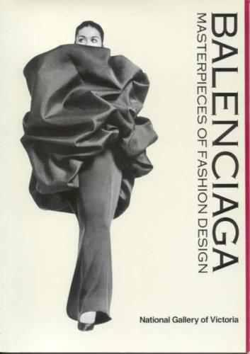 9780724101573: Balenciaga: Masterpieces of Fashion Design