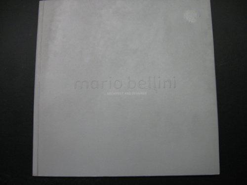 9780724102402: Bellini - Mario Bellini architect and designer