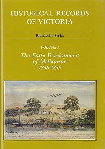 9780724183036: Historical Records Of Victoria V3 (Vol 3)