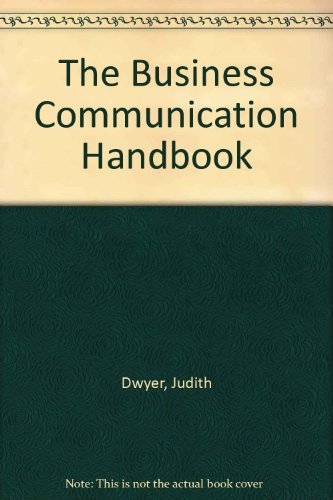 9780724801343: Business Communication Handbook