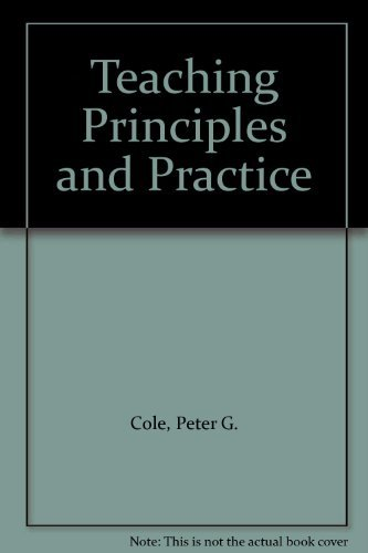 9780724811922: Teaching Principles and Practice