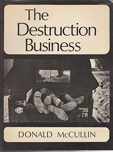 9780725101251: The Destruction Business [Paperback] by McCullin, Donald