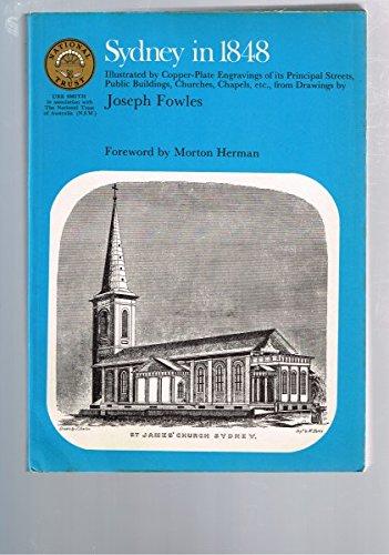 Sydney in 1848: Joseph Fowles (author), Morton Herman (foreword)