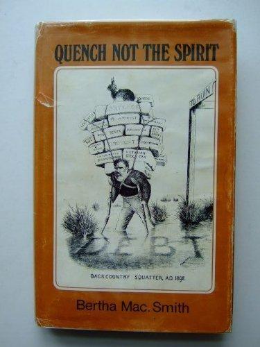 9780725600617: Quench not the spirit: merino heritage,