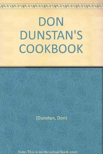 9780727002259: Don Dunstan's Cookbook