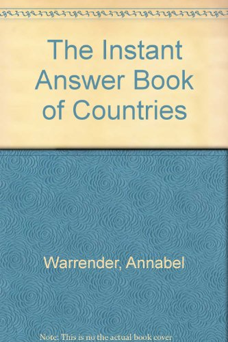 9780727007643: The Instant Answer Book of Countries