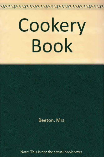 Cookery Book (072701420X) by Mrs. Beeton