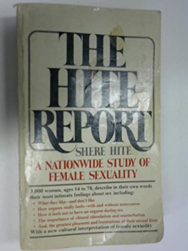 9780727102263: Hite Report: Nationwide Study of Female Sexuality