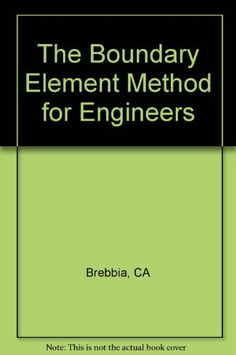 9780727302052: The Boundary Element Method for Engineers