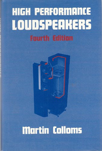 9780727308078: High Performance Loudspeakers