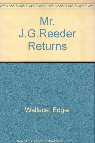 9780727401762: Mr. J.G.Reeder Returns