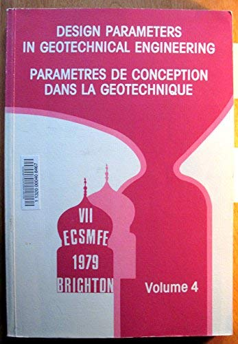9780727700803: Design Parameters in Geotechnical Engineering (v. 1-5) (English and French Edition)
