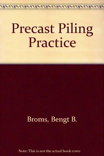 9780727701213: Precast Piling Practice