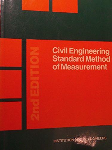9780727702180: Civil Engineering Standard Method of Measurement