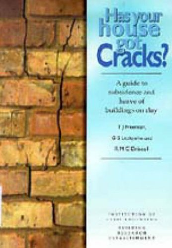 9780727719966 Has Your House Got Cracks A Guide To Subsidence And