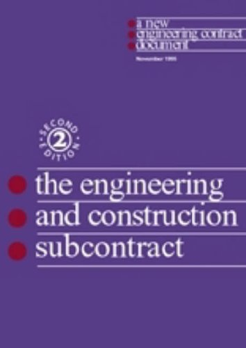 9780727720788: The New Engineering Contract: Sub-contract