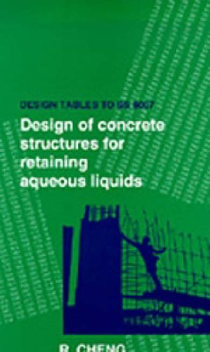 9780727725172: Design Tables to Bs8007: Design of Concrete Structures for Retaining Aqueous Liquids