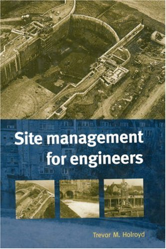 9780727727367: Site Management for Engineers