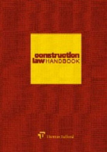 9780727728838: Construction Law Handbook