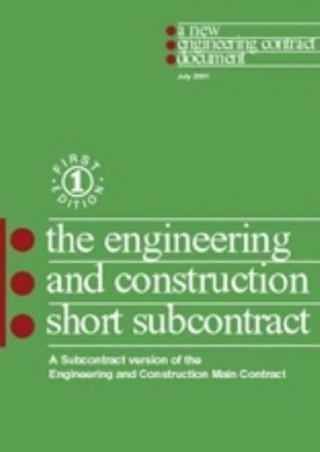 9780727730275: NEC: Engineering and Construction Short Subcontract