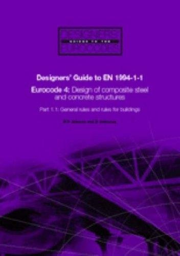 Designers Guide To Eurocode  Design Of Composite Buildings