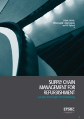 9780727732422: Supply Chain Management for Refurbishment: Lessons from High Street Retailing