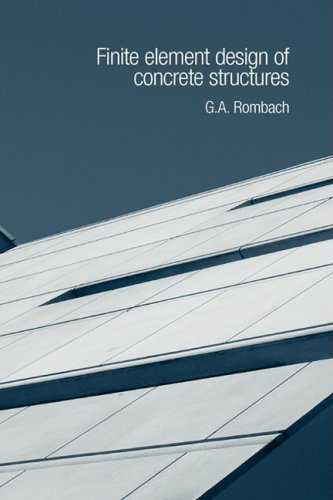 9780727732743: Finite Element Design of Concrete Structures