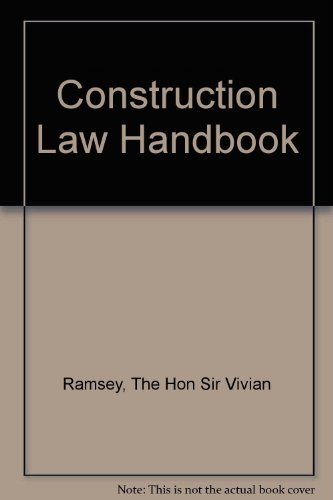 9780727734853: Construction Law Handbook 2007