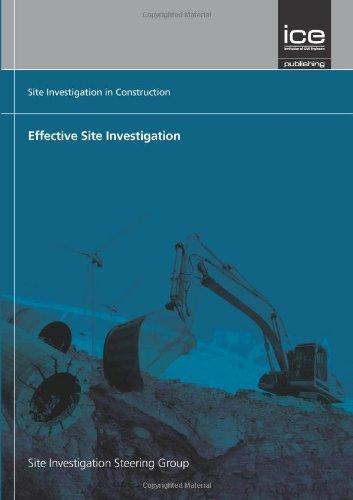 9780727735058: Effective Site Investigation (Site Investigation in Construction)